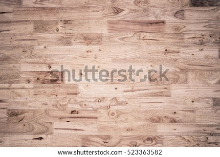 Wood Plank For Flooring Or Wall Design And Decoration / Rubber Wood Board