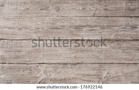 wood plank grain texture, old floor background  - stock photo