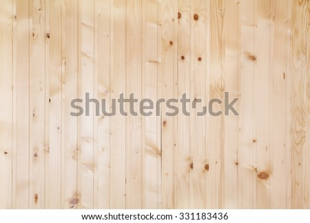 Wood plank texture with patterns background. Wall decorated with natural material - stock photo