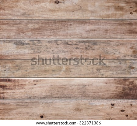 wood plank wall texture background - stock photo