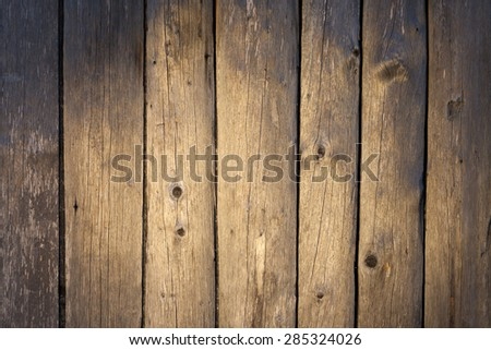Wood planks background taken from a barn wall