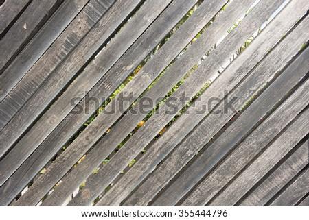 Wood planks texture background - stock photo