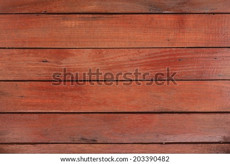 wood red plank texture background - stock photo