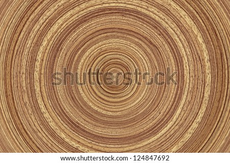 Wood rings texture - wooden background. - stock photo