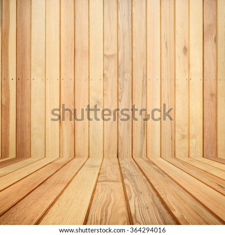 Wood room for background.Copy Space - stock photo