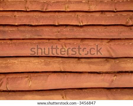 Wood Siding - stock photo