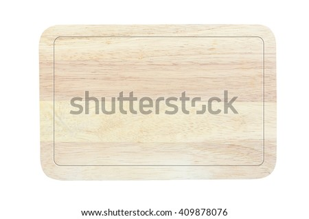 Wood sign board natural texture pattern on white background