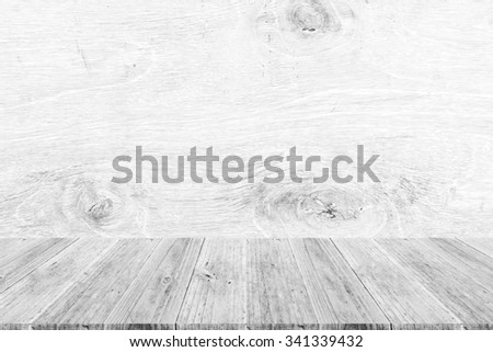 Wood terrace and Wood texture background surface white color
