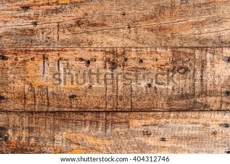 wood texture and mark tack  - stock photo
