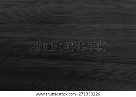 Wood texture background. Black dark color. - stock photo
