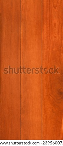 Wood texture background for design, kempas board . - stock photo