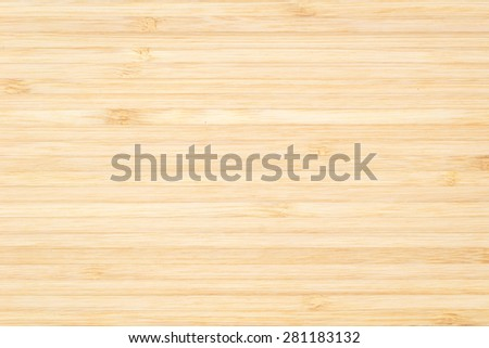 Wood texture background in natural light yellow cream color tone    - stock photo