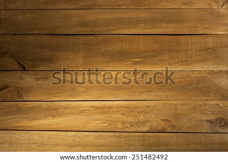 Wood Texture Background. Top View of Vintage Wooden Table. Text Space - stock photo