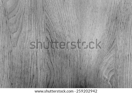 Wood texture for background, Black and white - stock photo