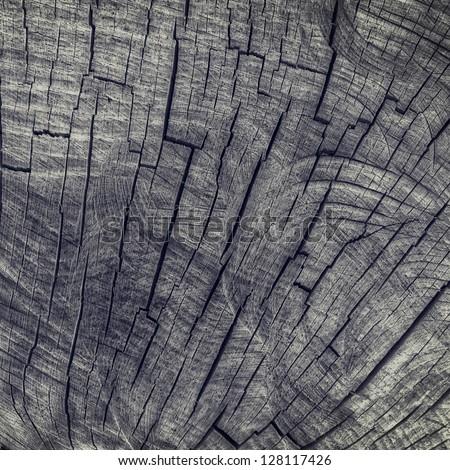 Wood texture grunge background - stock photo
