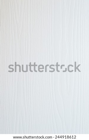 Wood texture in white color - stock photo