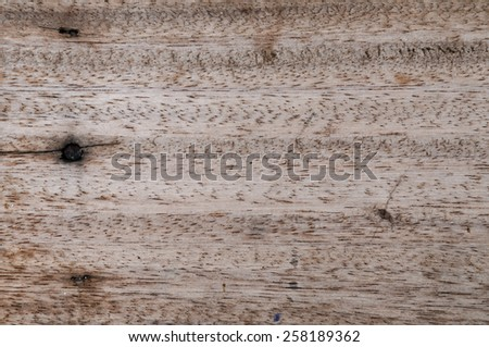 wood texture - old aged brown grunge lines plank blank gray background - stock photo