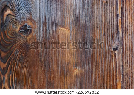 Wood texture. Old rough wood background. - stock photo