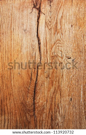 Wood texture with natural patterns, image can be used as a background for a design, top view - stock photo