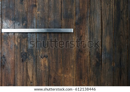 Wood Texture With Shelf.