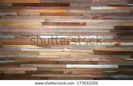 wood wall - stock photo