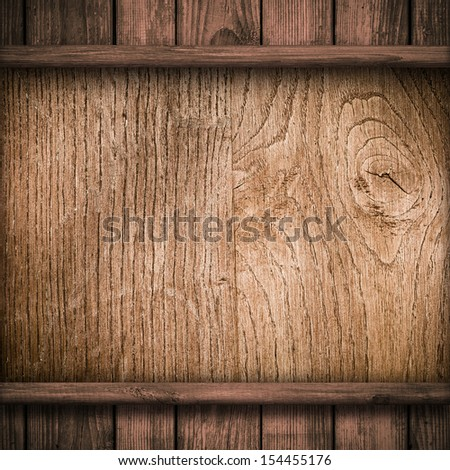 Wood wall and plank background or texture