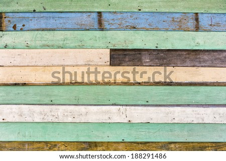 Wood wall background texture in vintage style