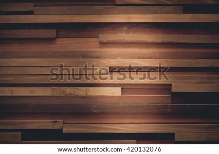 wood wall texture background - stock photo