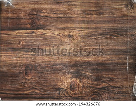 wooden abstract background with light and scratches - stock photo