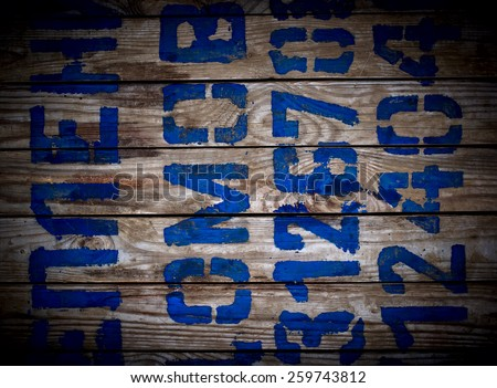 wooden background.top view .
