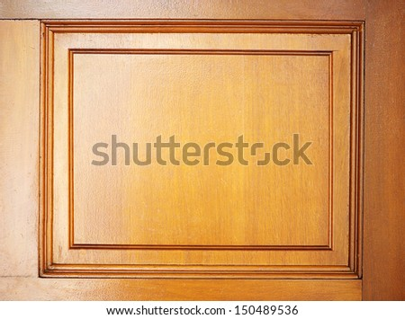wooden background with frame shape