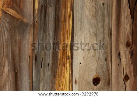 Wooden barn siding - stock photo