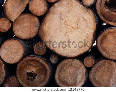 Wooden beams background