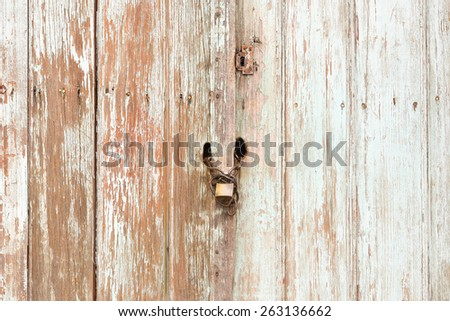 wooden boards texture background - stock photo