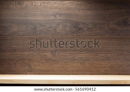 wooden brick and brown background  texture