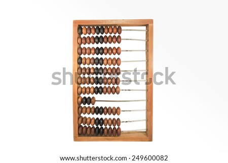 wooden  brown - stock photo