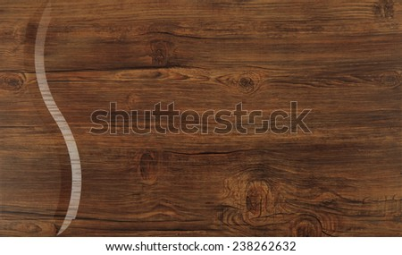 wooden brown oak texture furniture background - stock photo