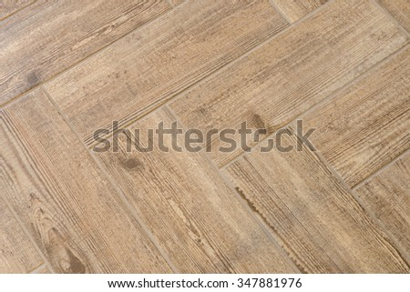 Wooden ceramic tile texture, like natural wooden parquet  - stock photo
