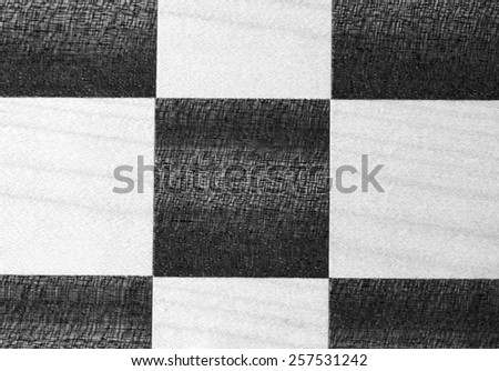 wooden chess board background - stock photo