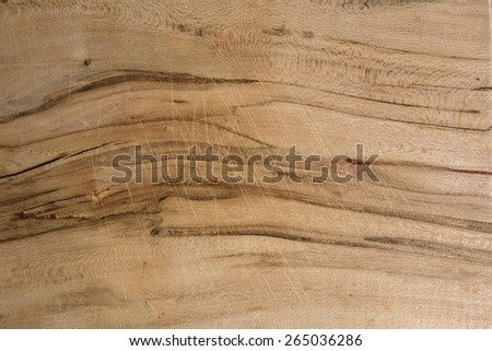 Wooden chopping board surface texture. - stock photo