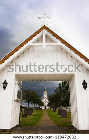 Wooden church in Norway