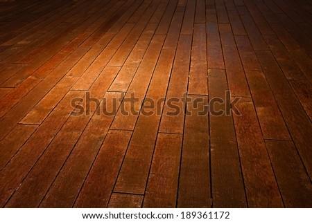 Wooden deck background lumber pattern - stock photo
