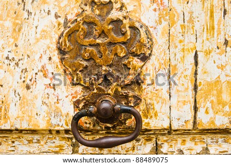 wooden door grunge textures and backgrounds