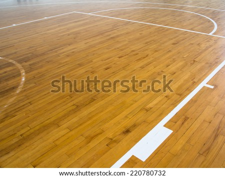 wooden floor basketball - Basketball Floor Stock Images, Royalty-Free Images & Vectors