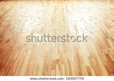 Wooden floor texture - stock photo