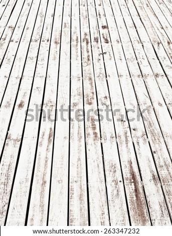 wooden floor texture - stock photo