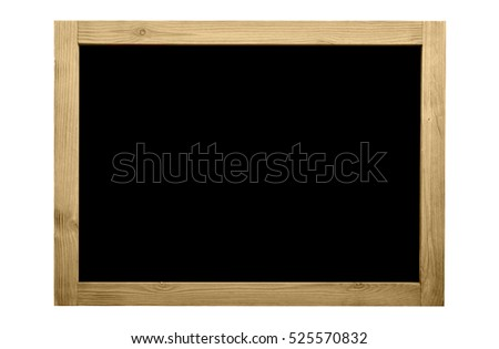 wooden frame for decorative text and color concept - Wooden Picture Frames