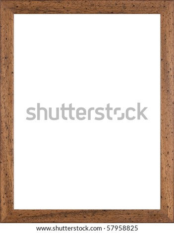 wooden frame for paintings or photographs - Wooden Frame