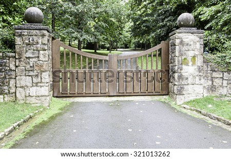Old Gate Stock Photos Images Pictures Shutterstock