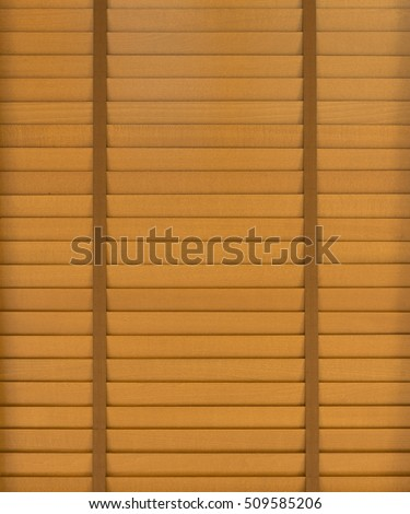 Wooden horizontal jalousie background